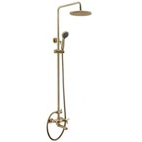 Душевая система KAISER Trio 57188Br Bronze