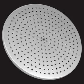 Лейка душевая Elghansa SHOWER HEAD MS24-12 стационарная круглая, хром