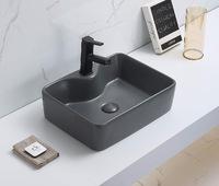 Керамическая раковина для ванной Ceramalux 7291MDH-2 Серый