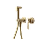 Смеситель для биде BronzeDeLuxe 1760's LOFT 3253CG матовое золото