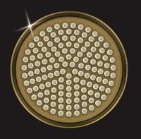 Лейка душевая Elghansa CD-220-Bronze, бронза