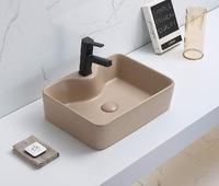 Керамическая раковина для ванной Ceramalux 7291MC-1 Капучино