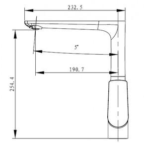 Смеситель для кухни KAISER Atrio 60044 Chrome/White
