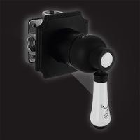 Смеситель Elghansa TERRAKOTTA 34C1186-Black встраиваемый однорычажный, черный