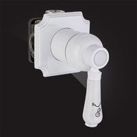 Смеситель Elghansa TERRAKOTTA 34C1186-White встраиваемый однорычажный, белый
