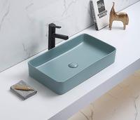 Керамическая раковина для ванной Ceramalux 78189MLG-6 зеленый