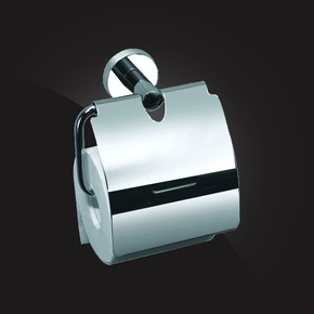 Держатель туалетной бумаги с крышкой Elghansa KENTUCKY KNT-300, хром