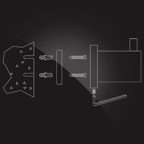 Кольцо для полотенца Elghansa CARRINGTON CRG-875, хром