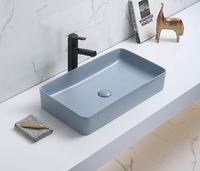 Керамическая раковина для ванной Ceramalux 78189MHL-4 голубой