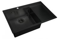 Мойка для кухни Zorg LIGHT GRAFIT ZL R 780510-L GRAFIT