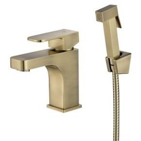 Смеситель для биде на раковину KAISER Sonat 34088-1 Bronze