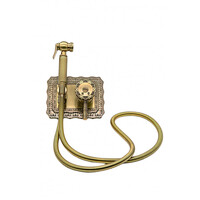 Гигиенический душ MILACIO Vitoria MC.800.BR скрытого монтажа, бронза