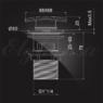 Донный клапан Elghansa WASTE SYSTEMS WBT-125 для раковины с переливом, хром