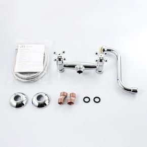 Настенный смеситель для кухни Milardo Bosfor BOSSB00M09