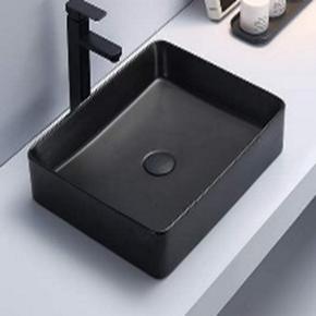 Керамическая раковина Ceramalux 7050KMB, черный матовый