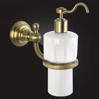 Дозатор для жидкого мыла Elghansa PRAKTIC Bronze Accessories PRK-471-Bronze керамика, бронза