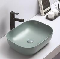 Керамическая раковина для ванной Ceramalux 78104MLG-6 зеленый