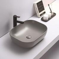 Керамическая раковина для ванной Ceramalux 78104MH-5 Светло-серый