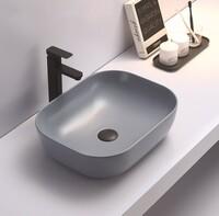 Керамическая раковина для ванной Ceramalux 78104MHL-4 голубой