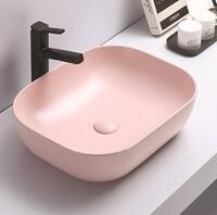 Керамическая раковина для ванной Ceramalux 78104MP-3 розовый