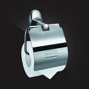 Держатель туалетной бумаги с крышкой Elghansa WORRINGEN WRG-300, хром