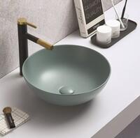 Керамическая раковина для ванной Ceramalux 104MLG-6 зеленый