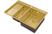Мойка для кухни Zorg BRONZE SZR 5178-2-R BRONZE
