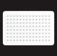 Лейка душевая Elghansa MQ-732-White, хром/белый