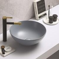 Керамическая раковина для ванной Ceramalux 104MHL-4 голубой