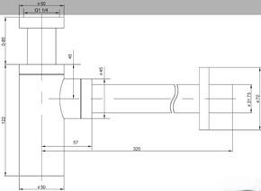 Сифон для раковины Timo Сифон 958-L
