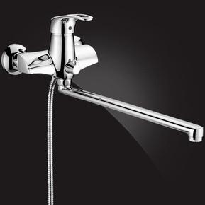 Смеситель Elghansa UNIVERSAL 5301935 для ванны однорычажный, хром