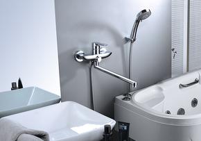 Смеситель Elghansa BERKSHIRE 5372743 для ванной однорычажный с душевым комплектом, хром