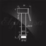 Гигиенический душ Elghansa SHOWER SPRAY BM-02C (Set-120) для биде с держателем и шлангом, хром