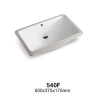 Керамическая раковина Ceramalux 540F, белый