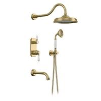 Встраиваемый душевой комплект Elghansa 54C0986-Bronze (Set-26)