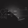 Дозатор для жидкого мыла Elghansa WORRINGEN WRG-470 стекло, хром