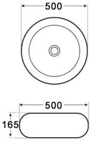 Керамическая раковина Melana MLN-7069