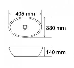 Керамическая раковина CeramaLux 7138