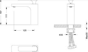 Смеситель для раковины Timo Torne 4361/00-16 Хром-Белый