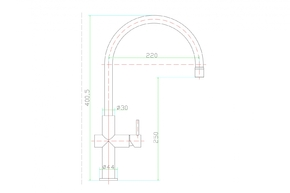 Смеситель для кухни Zorg ARIA SZR-0981-19
