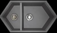 Кухонная мойка Kit Kraken Creek серый