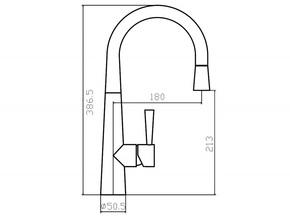 Смеситель для кухни Zorg FLASH SZR-1084