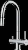 Смеситель для кухни под фильтр Omoikiri AKITA-S C