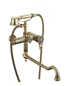 Смеситель для ванны Zorg A 401WDN-BR