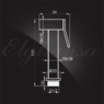 Смеситель Elghansa 12Q0888 (Set-62) для скрытого монтажа с набором для гигиенического душа