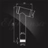 Смеситель Elghansa 34C0786-Black (Set-84) для скрытого монтажа с набором для гигиенического душа