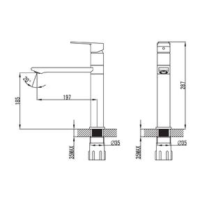 Смеситель для кухни Iddis Edifice EDISB00i05