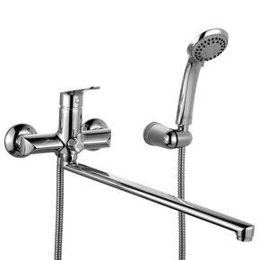 Смеситель для ванны Iddis Custo с длинным изливом CUSSBL2i10