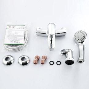 Смеситель для ванны Iddis Torr с коротким изливом TORSB00i02