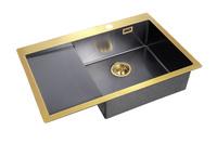 Мойка для кухни Zorg A 7851-R BRONZE/GRAFIT